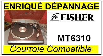 FISHER-mt6310-COURROIES-ET-KITS-COURROIES-COMPATIBLES