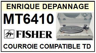 FISHER-MT6410 MT-6410-COURROIES-ET-KITS-COURROIES-COMPATIBLES