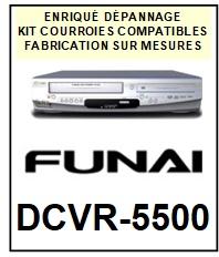 FUNAI-DCVR5500 DCVR-5500-COURROIES-ET-KITS-COURROIES-COMPATIBLES
