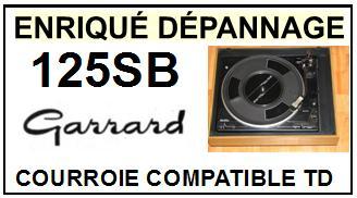 GARRARD-125SB 125-SB-COURROIES-ET-KITS-COURROIES-COMPATIBLES