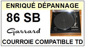 GARRARD-86SB-COURROIES-ET-KITS-COURROIES-COMPATIBLES