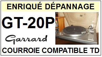 GARRARD-GT20P GT-20P-COURROIES-ET-KITS-COURROIES-COMPATIBLES