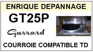 GARRARD-GT25P-COURROIES-ET-KITS-COURROIES-COMPATIBLES
