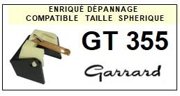 GARRARD-GT355-POINTES-DE-LECTURE-DIAMANTS-SAPHIRS-COMPATIBLES