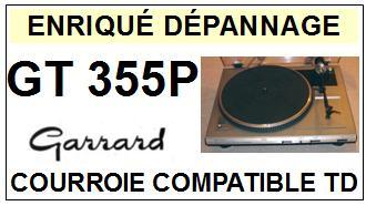 GARRARD-GT355P-COURROIES-ET-KITS-COURROIES-COMPATIBLES