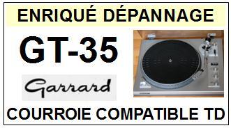 GARRARD-GT35 GT-35-COURROIES-ET-KITS-COURROIES-COMPATIBLES