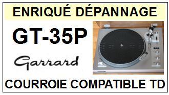 GARRARD-GT35P GT-35P-COURROIES-ET-KITS-COURROIES-COMPATIBLES