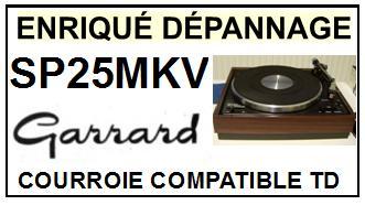GARRARD-SP25MKV-COURROIES-ET-KITS-COURROIES-COMPATIBLES
