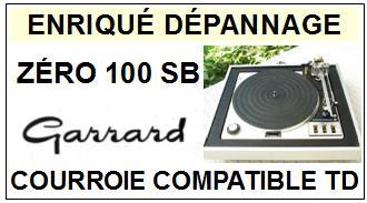 GARRARD-ZERO 100 SB-COURROIES-ET-KITS-COURROIES-COMPATIBLES