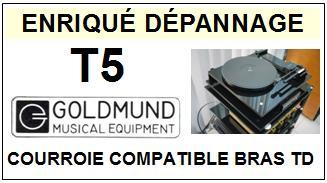 GOLDMUND-T5-COURROIES-ET-KITS-COURROIES-COMPATIBLES