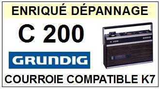 GRUNDIG-C200-COURROIES-ET-KITS-COURROIES-COMPATIBLES