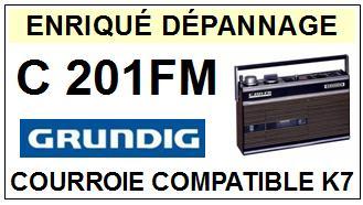 GRUNDIG-C201FM-COURROIES-ET-KITS-COURROIES-COMPATIBLES