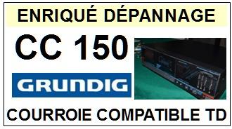 GRUNDIG-CC150-COURROIES-ET-KITS-COURROIES-COMPATIBLES