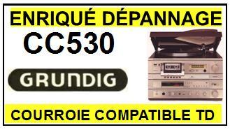 GRUNDIG-cc530-COURROIES-ET-KITS-COURROIES-COMPATIBLES