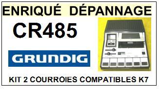 GRUNDIG-CR485-COURROIES-ET-KITS-COURROIES-COMPATIBLES