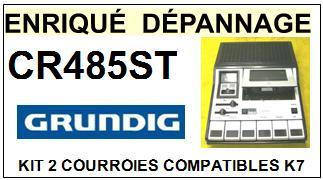 GRUNDIG-CR485ST-COURROIES-ET-KITS-COURROIES-COMPATIBLES