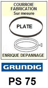 GRUNDIG-PS75-COURROIES-ET-KITS-COURROIES-COMPATIBLES