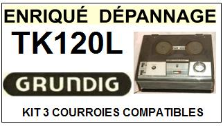 GRUNDIG-TK120L-COURROIES-ET-KITS-COURROIES-COMPATIBLES
