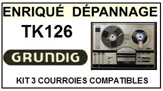 GRUNDIG-TK126-COURROIES-ET-KITS-COURROIES-COMPATIBLES