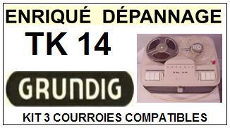 GRUNDIG-TK14-COURROIES-ET-KITS-COURROIES-COMPATIBLES