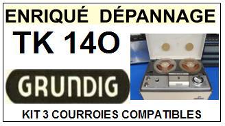 GRUNDIG-TK140-COURROIES-ET-KITS-COURROIES-COMPATIBLES
