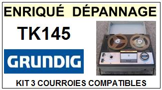 GRUNDIG-TK145-COURROIES-ET-KITS-COURROIES-COMPATIBLES