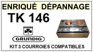 GRUNDIG-TK146-COURROIES-ET-KITS-COURROIES-COMPATIBLES