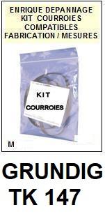 GRUNDIG-TK147-COURROIES-ET-KITS-COURROIES-COMPATIBLES