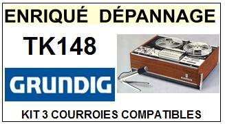 GRUNDIG-TK148-COURROIES-ET-KITS-COURROIES-COMPATIBLES