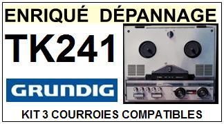 GRUNDIG-TK241-COURROIES-ET-KITS-COURROIES-COMPATIBLES