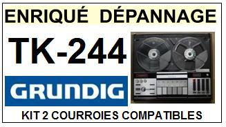GRUNDIG-TK244-COURROIES-ET-KITS-COURROIES-COMPATIBLES