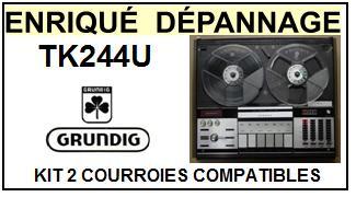 GRUNDIG-TK244U-COURROIES-ET-KITS-COURROIES-COMPATIBLES