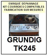 GRUNDIG-TK245-COURROIES-ET-KITS-COURROIES-COMPATIBLES