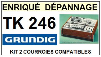GRUNDIG-TK246-COURROIES-ET-KITS-COURROIES-COMPATIBLES