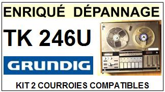 GRUNDIG-TK246U-COURROIES-ET-KITS-COURROIES-COMPATIBLES