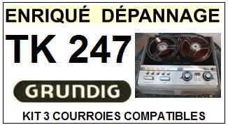 GRUNDIG-TK247-COURROIES-ET-KITS-COURROIES-COMPATIBLES