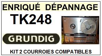 GRUNDIG-TK248-COURROIES-ET-KITS-COURROIES-COMPATIBLES
