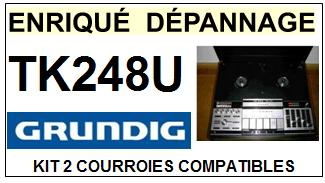 GRUNDIG-TK248U-COURROIES-ET-KITS-COURROIES-COMPATIBLES