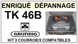 GRUNDIG-TK46B-COURROIES-ET-KITS-COURROIES-COMPATIBLES