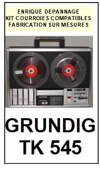 GRUNDIG-TK545-COURROIES-ET-KITS-COURROIES-COMPATIBLES