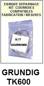 GRUNDIG-TK600-COURROIES-ET-KITS-COURROIES-COMPATIBLES