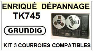 GRUNDIG-TK745-COURROIES-ET-KITS-COURROIES-COMPATIBLES