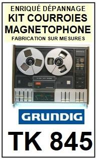 GRUNDIG-TK845 HIFI-COURROIES-ET-KITS-COURROIES-COMPATIBLES