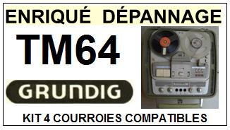 GRUNDIG-TKM4-COURROIES-ET-KITS-COURROIES-COMPATIBLES