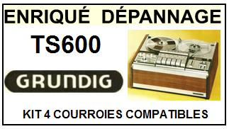 GRUNDIG-TS600-COURROIES-ET-KITS-COURROIES-COMPATIBLES