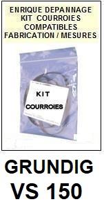 GRUNDIG-VS150-COURROIES-ET-KITS-COURROIES-COMPATIBLES