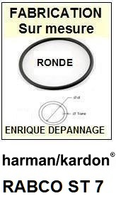 HARMAN KARDON-RABCO ST7-COURROIES-ET-KITS-COURROIES-COMPATIBLES