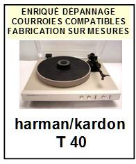 HARMAN KARDON-T40-COURROIES-ET-KITS-COURROIES-COMPATIBLES