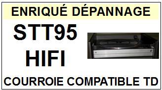 HIFI-STT95-COURROIES-ET-KITS-COURROIES-COMPATIBLES