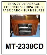 HIFI-MT2338CD MT-2338CD-COURROIES-ET-KITS-COURROIES-COMPATIBLES